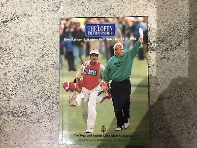 The Open Championship 1996 (Official Programme, Royal Lytham Cw Order Of Play)