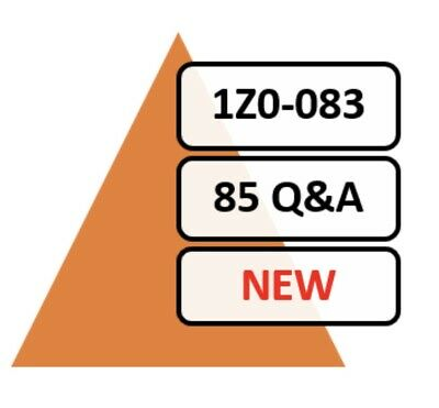 Updated 1Z0-083 Exam 85 Q&A PDF File Only!