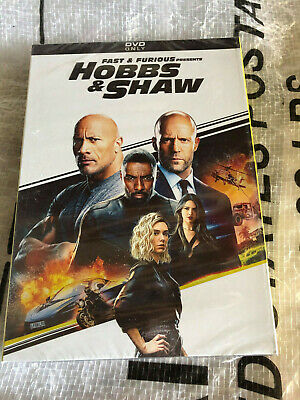 Fast & Furious Presents : Hobbs and Shaw (DVD, 2019) Spin Off Movie Brand New!