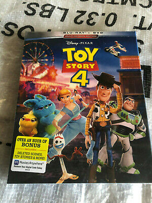 Toy Story 4 (Blu-ray Disc, 2019) New & Sealed!