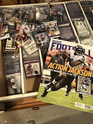 NFL *HOT PACK* 22-25 Cards w/ AUTO or RELIC! NO JUNK! HUNDREDS SOLD! 15250+FB