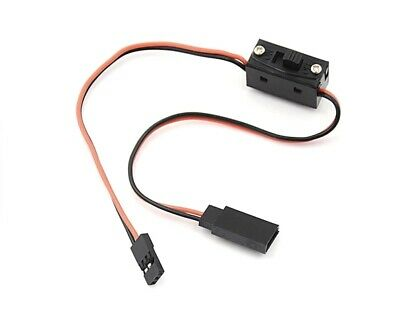 RC Car switch Micro Slide prewired On//Off plug JR male to JR female 3pc