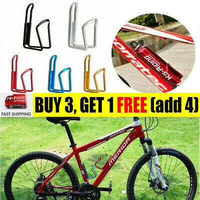 Aluminum Alloy Water Bottle Holder Sports Bike Bicycle Cycling Drink Rack CageWS