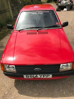 ford escort mk3 1.3l classic car barn find unfinished project spares repair