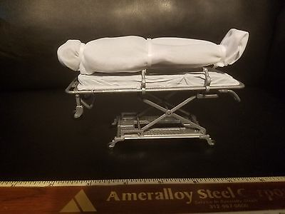 Body On Gurney Corpse Mortician Emt Medical Display, Unique Holiday Gift Idea
