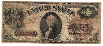 1880 $1 United States Note Legal Tender Columbus Discovers Land. Good. Y00007088