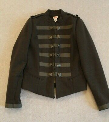 Khaki Green Storm Monsoon Girls Military Jacket Aged 13-14