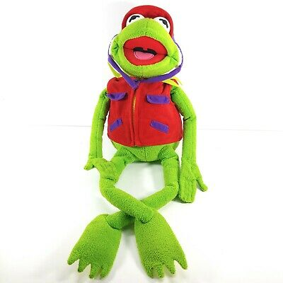 Macy's Exclusive Kermit The Frog Frog-Tographer Plush With Vest