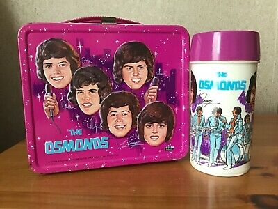 Vintage The Osmonds Lunchbox And Thermos
