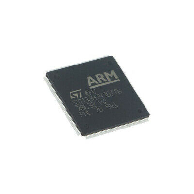 STM32H743BIT6 ARM microcontroller Flash: 2MB 400MHz SRAM: 1000kB LQFP208 STMicro