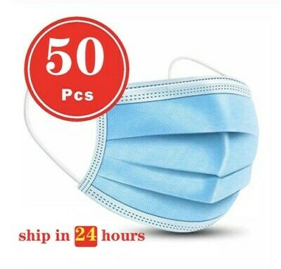 50 PCS Face Mask Ships Free From USA