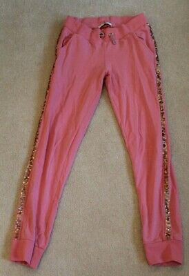 M&S Pink Girls Joggers 10 - 11 Years