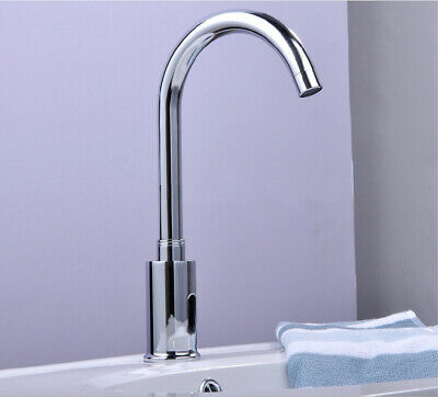 Hands Free Automatic Sensor Thermostatic Bathroom Faucet Commercial Mixing Valve