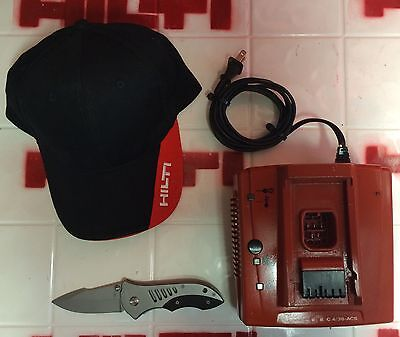 Hilti 4/36 Acs Turbo Battery Charger, Preowned, Free Extras, Fast Ship