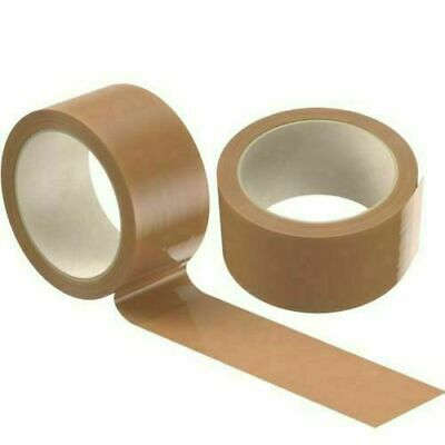 Brown Strong Tape Packing Parcel Packaging 48Mm X 66M Box Sealing 1 2 6 36 72