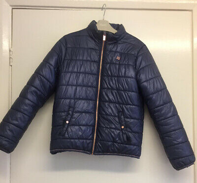Girls River Island Blue Jacket Age 11-12