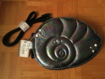 Disney The Little Mermaid Ursula The Sea Witch Villains Purse Shell Pearls Bag