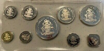 1974 Bahamas Proof Set - Silver Issue