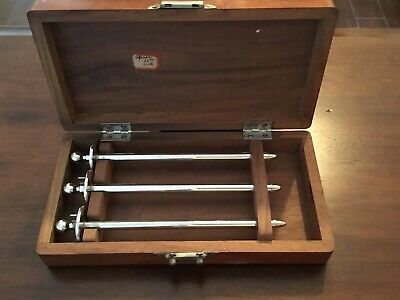 ANTIQUE 1800s SURGEON'S SURGICAL MEDICAL KIT A C M I  Unique RARE Set