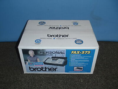 New Sealed Brother Fax-575 Personal Plain Paper Fax Phone & Copier Qty Available