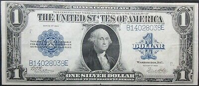 1923 Fr# 238 United States Woods White One Dollar Silver Certificate Note