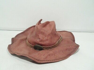 Zeckos Seagrass Straw Cowboy Hat w//Seashell Band Tan