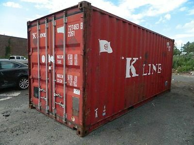 20 Foot Steel Cargo Shipping Storage Container Boston MA Conex Containers