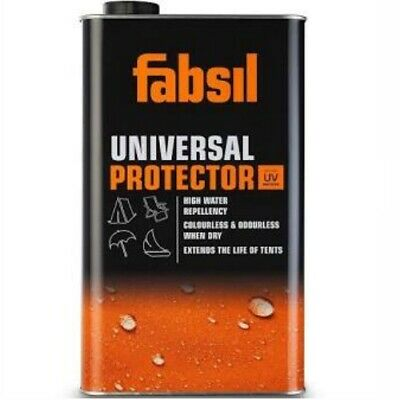 Fabsil Waterproofer Waterproofing Sealant Awning Tent Canvas 5 Litre Grangers UV