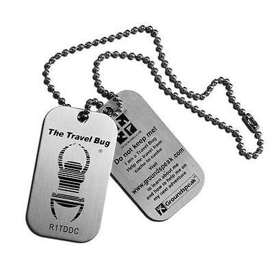 Geocaching Travel Bug Single Pack