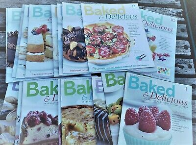 Baked And Delicious Magazines 1-19  2011