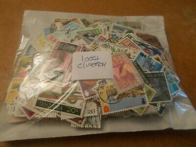 1000+ Commonwealth stamps - all off paper - only £4 start!