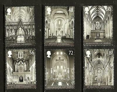 GB 2008 - Cathedrals - Set  - Very fine used