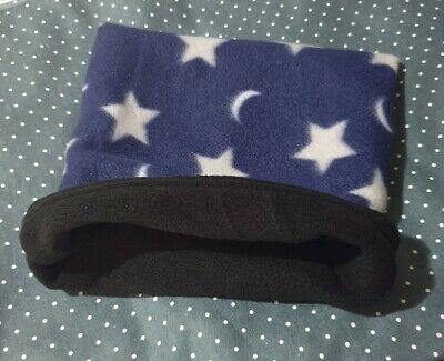 Snuggle Pouch Cuddle Pouch Bag Sack Ideal For Guinea Pig Rat  - Star Design
