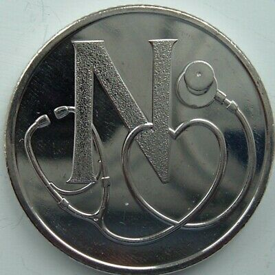 A - Z 2019 ALPHABET 10p COIN HUNT LETTER N NHS NEW AND UNCIRCULATED TEN PENCE