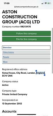 Uk 2012 Dormant Limted Company For Sale
