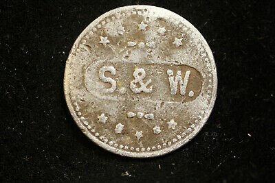 Kerrville, Texas.  S & W  Good For One Drink token