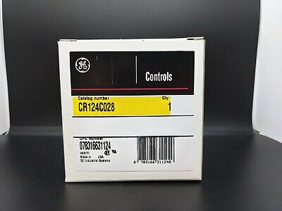 General Electric CR124C028 Size 1 Overload Relay