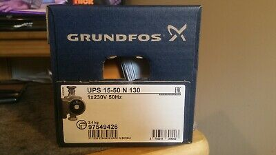Grundfos UPS 15-50N 130 Bronze Hot Water Pump 97549426