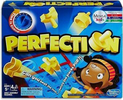 Board Games For Kids Ages 4-8 Gaming Perfection Solo Friends and Family