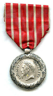 FRANCE Medaille  Campagne ITALIE Periode Second Empire Napoleon III. SACRISTAIN