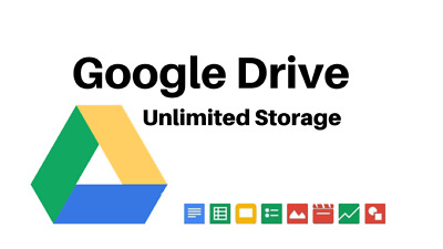 Unlimited Google Drive Cloud Storage
