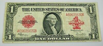 FR 40 $1 United States Note Red Seal Large Size 1923