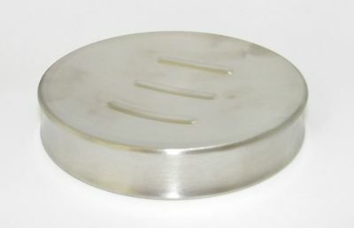 2/10/25 St Soap Dish Stainless Steel Matte Round 11 X 2 CM Soap Holder Soap Dish