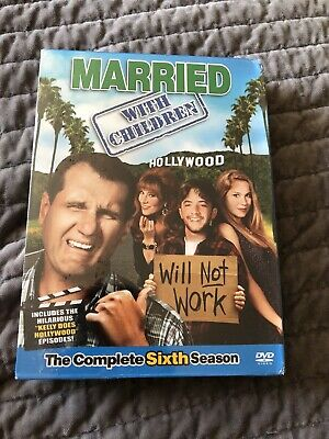 MARRIED WITH CHILDREN The Complete Sixth Season 6 Factory Sealed New 3 DVD Set