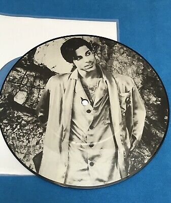 7 Inch Picture Disc. Prince, Interview 1985