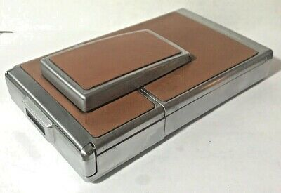 Polaroid SX-70 Land Camera with leather case.