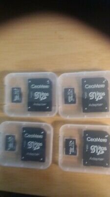 32 GB micro sd card with adapterr and storage case