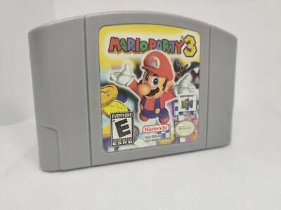 Mario Party 3 Nintendo 64 BRAND NEW Game Cartridge