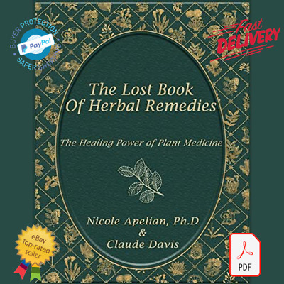 New The Lost Book of Herbal Remedies by Claude Davis PDF/eBook/Fast Delivery