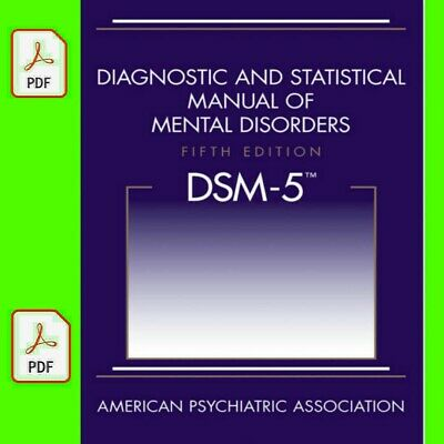 Diagnostic and statistical manual of mental disorders DSM-5 5th Edition [P.D.F]